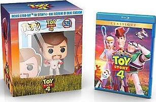 Coffret Toy Story 4 (blu-ray) + Funko Pop