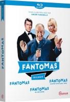 Trilogie Fantomas (blu-ray)