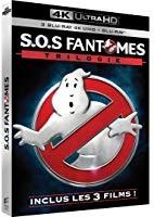 "Trilogie ""SOS Fantômes"" (blu-ray 4K + blu-ray)"