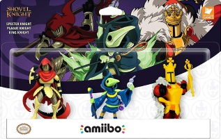 Triple pack d'amiibo Shovel Knight: Treasure Trove (Switch)