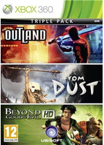 Triple Pack Ubisoft (Beyond Good & Evil, From Dust, Outland) (Xbox 360)