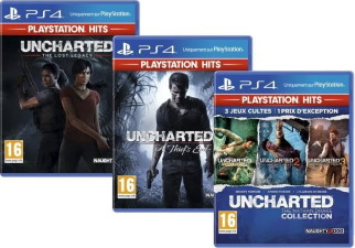 """Intégrale """"Uncharted"""" (PS4)"""
