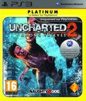 Uncharted 2: Among Thieves édition platinum (PS3)