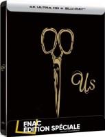 Us édition steelbook (blu-ray 4K)