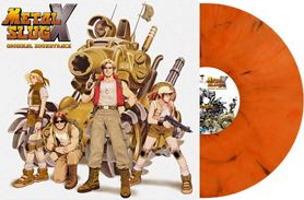 Vinyle Metal Slug X édition limitée orange marbré