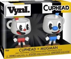 Vynl Cuphead + Mugman