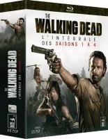 The Walking Dead : intégrale des saisons 1 à 5 (blu-ray)