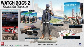 """Watch_Dogs 2 édition collector """"San Francisco"""""""