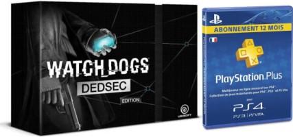 Watch_Dogs édition collector Dedsec + 1 an de PS+