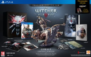 The Witcher 3 : Wild Hunt édition collector (PS4)