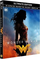 Wonder Woman Ultimate Edition (blu-ray 4K + blu-ray 3D + blu-ray)