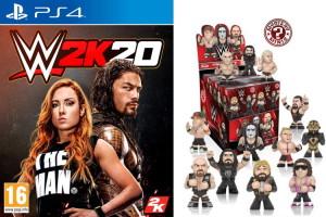 WWE 2K20 (PS4) + Funko Mystery Mini offerte