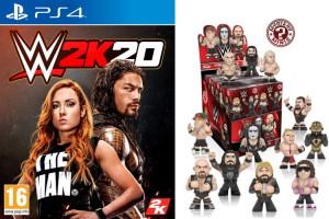 WWE 2K20 (PS4) + Funko Mystery Mini offerte