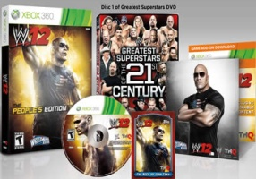 WWE '12 édition collector The Rock (PS3)