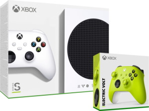 Console Xbox Series S + manette supplémentaire Electric Volt