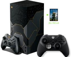 Xbox Séries X édition limitée Halo Infinite + manette Elite
