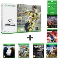Xbox One S 1 To + 7 jeux + 3 mois de Xbox Live