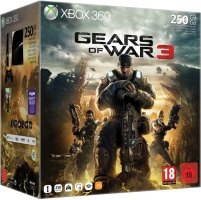Console xbox 360 noire 250 Go + Gears of War 3