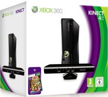 Pack Xbox 360 Kinect 4 Go