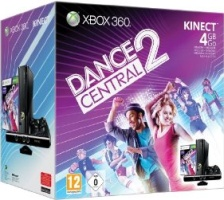 Xbox 360 4 Go + Kinect + Dance Central 2