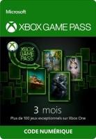 Abonnement 3 mois de Xbox Game Pass