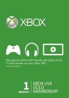 Abonnement Xbox Live Gold 1 mois
