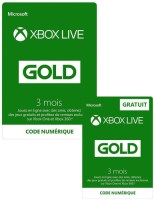 Xbox Live Gold 3 mois + 3 mois offerts