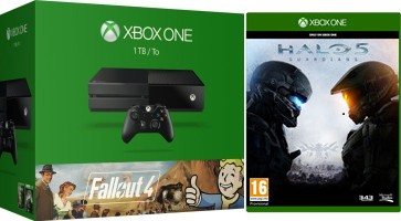 "Xbox One 1 To Pack ""Fallout 3 + Fallout 4"" + Halo 5 Guardians"