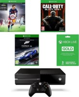 Xbox One 500 Go + FIFA 16 + Call of Duty Black Ops 3 + Forza Motorsport 6 + 3 mois de Live Gold
