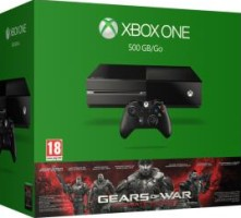"Xbox One 500 Go pack ""Gears of War : Ultimate Edition"""