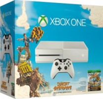 "Xbox One blanche pack ""Sunset Overdrive"""