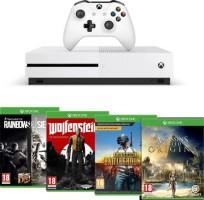 Xbox One S 1 To + Assassin's Creed Origins + Rainbow Six Siege + Wolfenstein II + PUBG