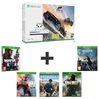 Xbox One S 1 To + 6 jeux