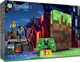 Xbox One S 1 To édition limitée Minecraft