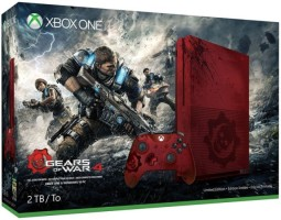 "Xbox One S 2 To édition limitée ""Gears Of War 4"""