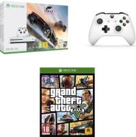 Xbox One S 500 Go + 2 manettes + Forza Horizon 3 + GTA V