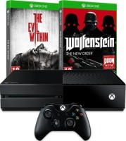 Xbox One + Wolfenstein : The New Order + The Evil Within