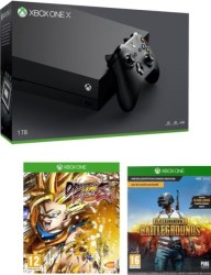 Xbox One X + Dragon Ball FighterZ + PUBG