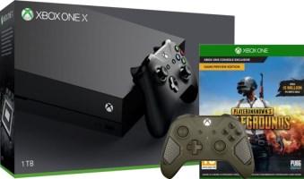Xbox One X + manette supplémentaire + PUBG