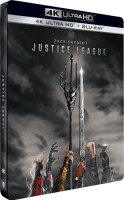Zack Snyder's Justice League édition steelbook (blu-ray 4K)