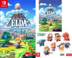 The Legend of Zelda : Link's Awakening (Switch) + magnets et posters offerts