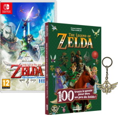 The Legend of Zelda: Skyward Sword HD (Switch) + livre et porte-clé offerts