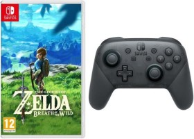 Manette Pro Controller + Zelda: Breath of the Wild (Switch)