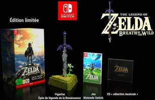 The Legend of Zelda : Breath of the Wild édition limitée (Switch)